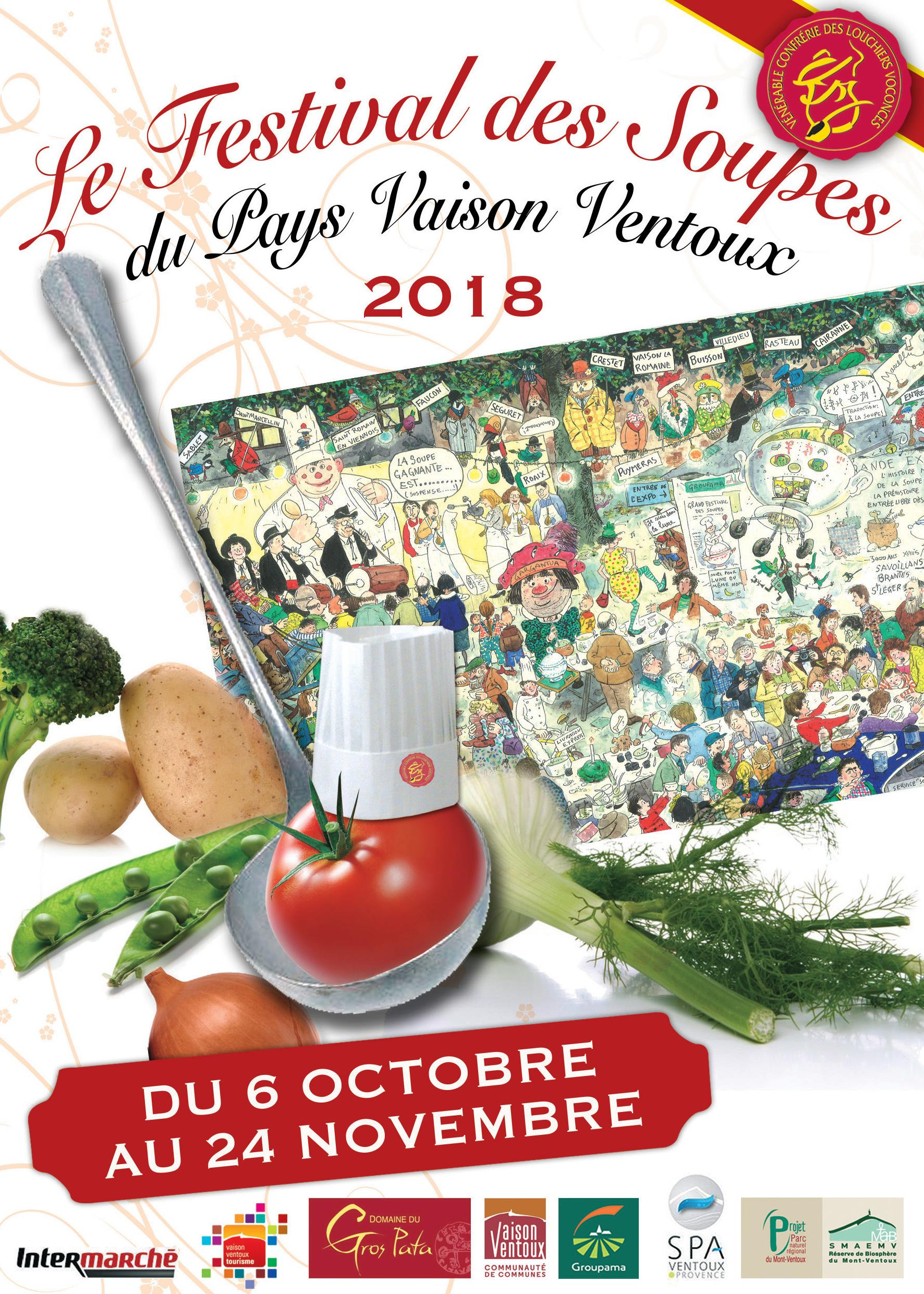 Flyer Festival des Soupes 2018 2